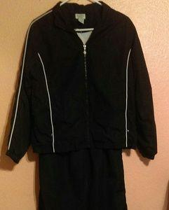 Classic Elements petite black track suit